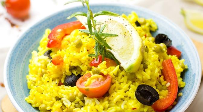 Insalata di riso gialla