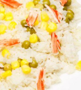insalata con polpa di granchio