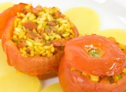 Pomodori ripieni al curry