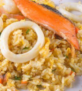 Risotto al sapore di mare