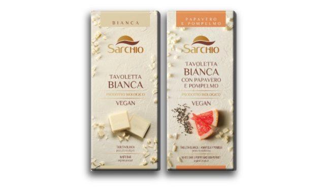 Tavolette cioccolato vegan Sarchio