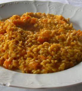 risotto zucca delica