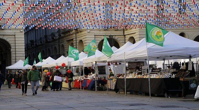 Mercato contadino a Torino