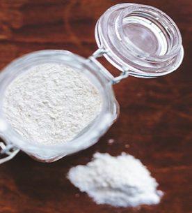 Farina di riso gluten free a casa