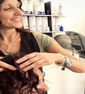 Farinaccio di riso come trattamento lucidante per capelli