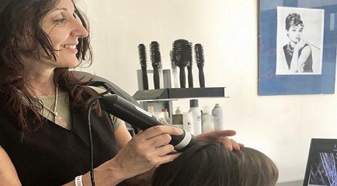 Trattamento antiossidante per capelli