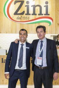 Maurizio Vezzani (CEO Zini) e Carlo Preve (AD Riso Gallo)