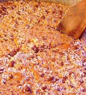 Panissa vercellese per la festa del riso di Baraggia