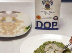 Risotto al plancton e capesante marinate al cedro con Riso Goio 1929 DOP