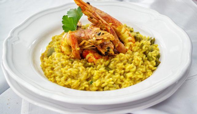 Risotto giallo con riso invecchiato