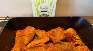 Pollo speziato con Venere Sapise