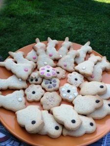 Biscotti alla cannella con farina Risoinfiore