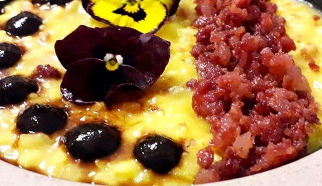 Ricexperience: risotto al salame d'oca IGP