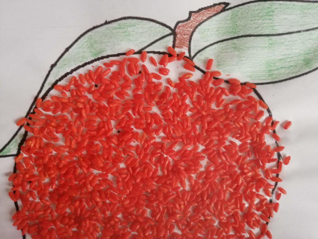 Ricexperience: colorare riso e sale