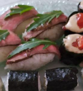 sushi alla piemontese