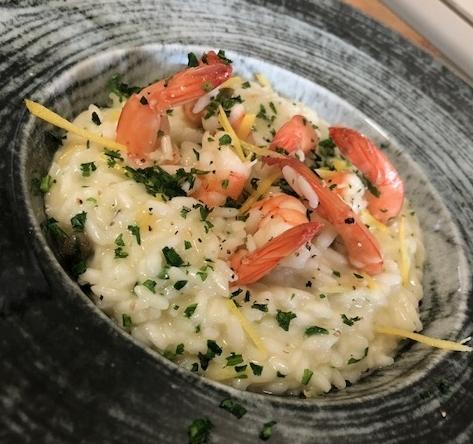Il risotto gamberi, capperi e limone di DicoCibo