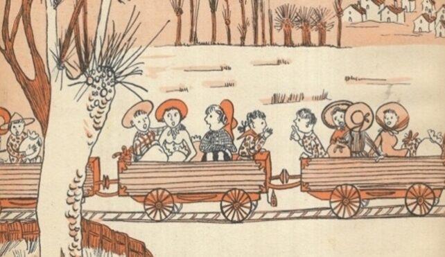 Gianni Rodari, Il treno delle mondine