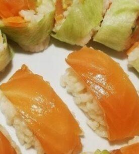 Il sushi fatto in casa con riso Originario