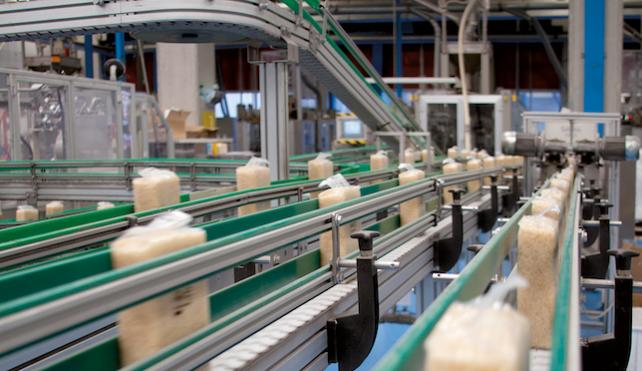 Linea di confezionamento riso Curti