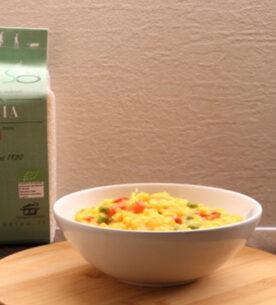 Zuppa di riso con verdure miste_ Riso Preciso