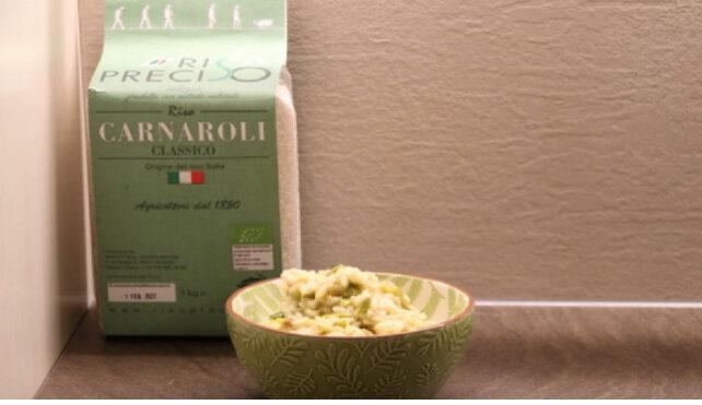 Risotto agli asparagi_Carnaroli classico bio riso Preciso