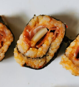 Sushi calabrese