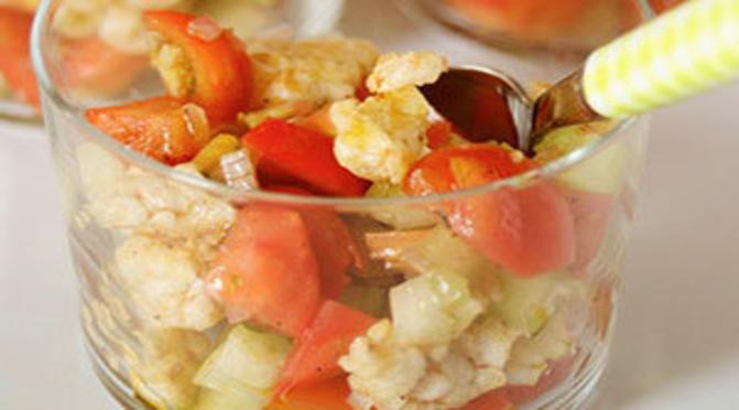 La finta panzanella di riso
