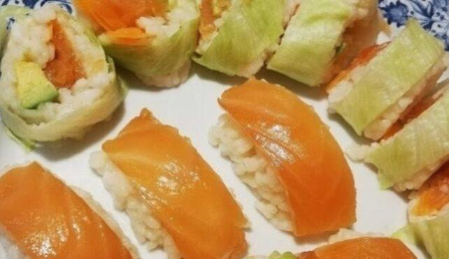 Il sushi italiano fatto in casa
