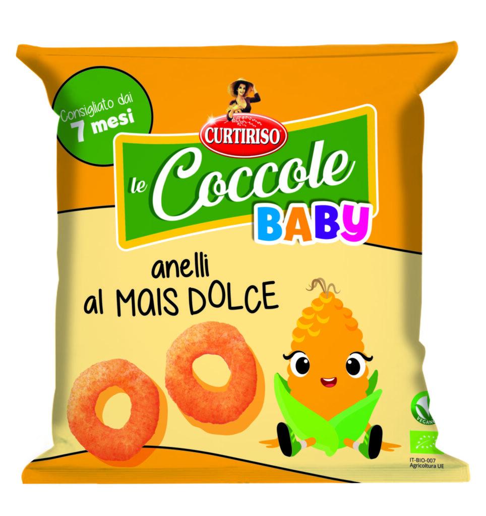 Coccole Curtiriso: gli anelli di mais dolce
