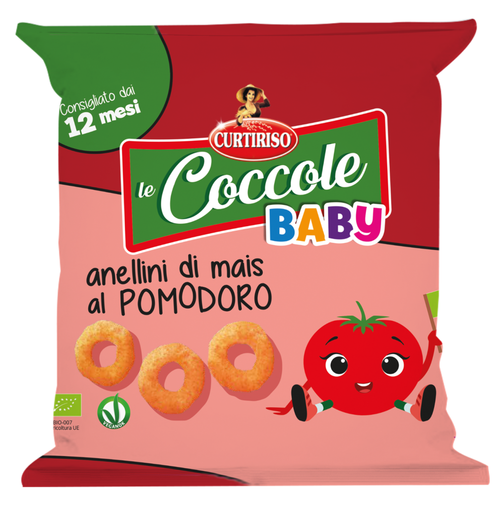 Le Coccole Curtiriso mais e pomodoro