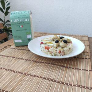 Impiattamento insalata di riso_Riso Preciso