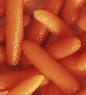Le carote nella ricetta delle Coccole Curtiriso