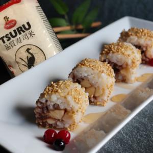 Impiattamento sweet sushi con Curtiriso