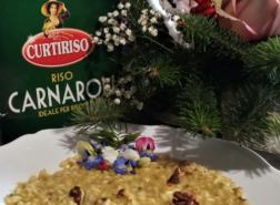 Risotto con baccala, noci e pecorino_Curtiriso