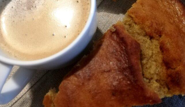 Per colazione, il banana bread con farina di riso