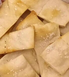 Crackers di riso fatti in casa