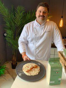 Chef Delio e la sua gricia risottata