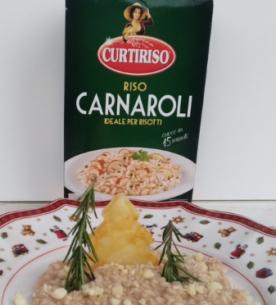Risotto con Lambrusco e Castelmagno_Carnaroli Curtiriso