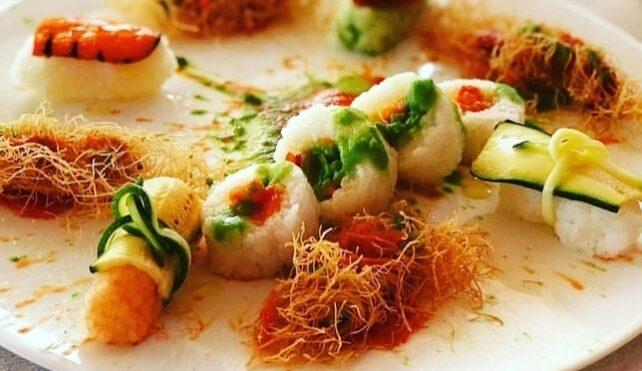 Il sushi vegano di Chef Coletta