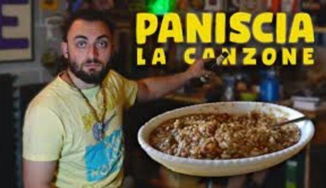 Luca Panozzo e la sua canzone sulla paniscia