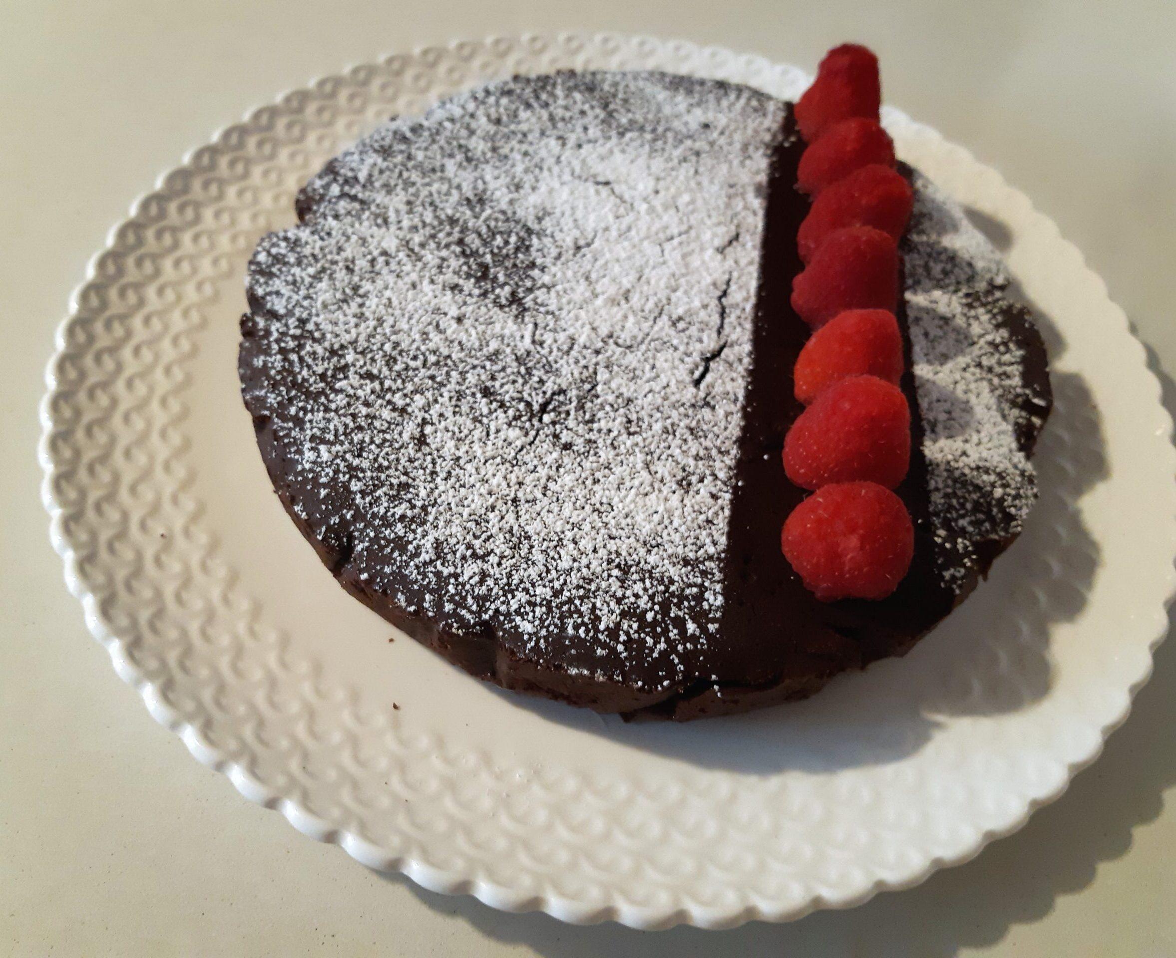 torta al cioccolato gluten free