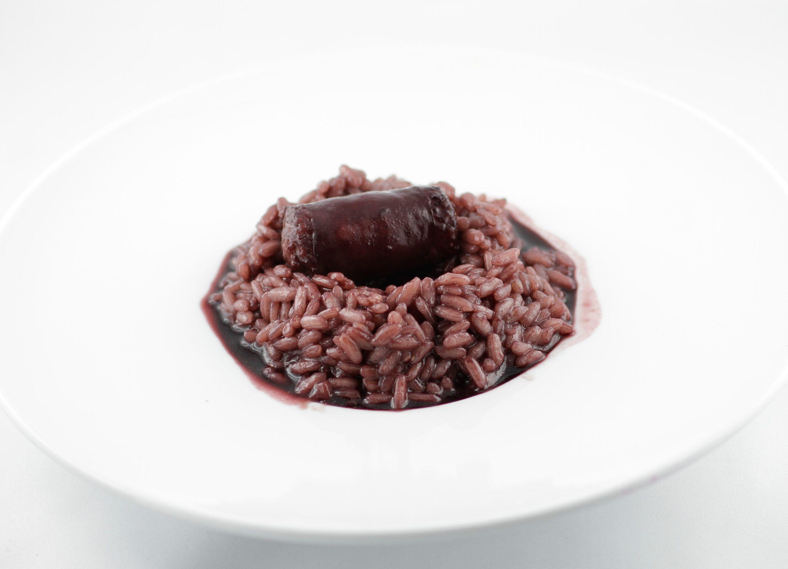 minestra di riso al vino