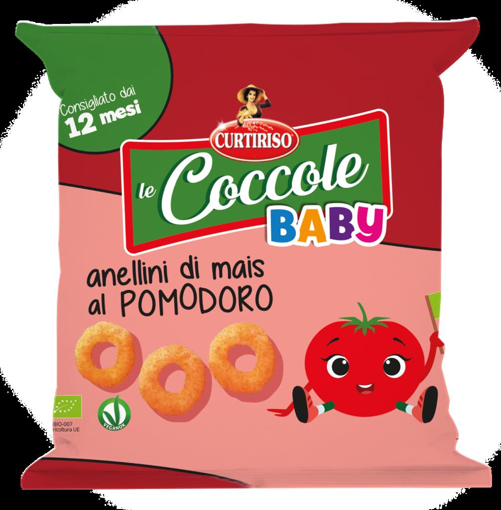 Coccole Curtiriso: anellini di mais al pomodoro